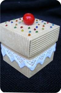 cupcake paper box