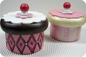 cupcake wood box