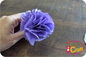 fabric flower - diy