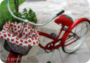 strawberry bike