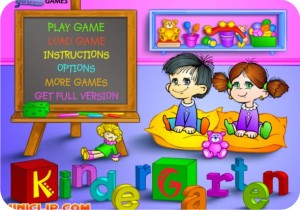 jogo - kindergarten