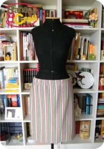 skirt - stripes
