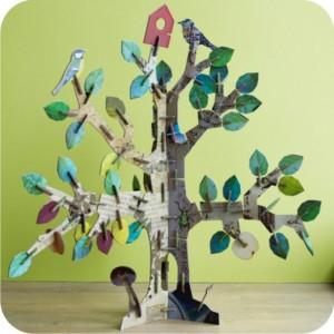 3d jigsaw tree