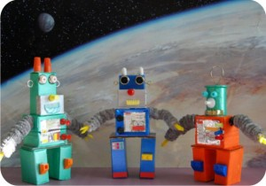 robots - recycle