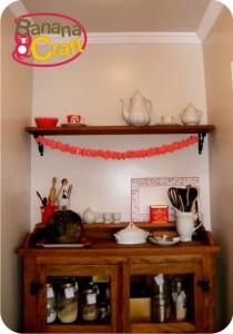 cozinha - vermelho e branco