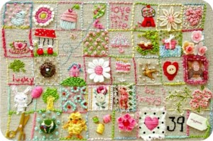 39 squares - stitchalong