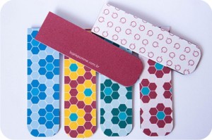 marcadores de página com ímã