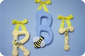 quarto de bebê - abelhas