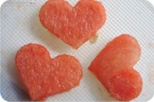 coração de melancia