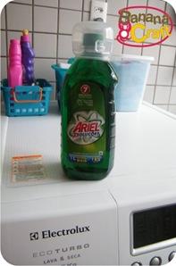 sabao liquido ariel