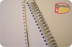 caderno forrado