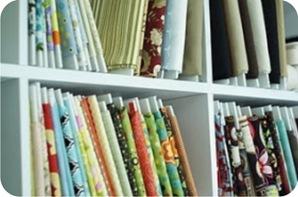como organizar tecidos