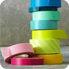 fitas adesivas decoradas