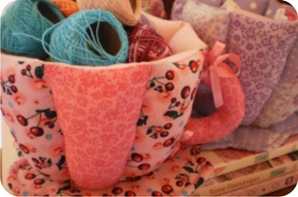 fabric cup
