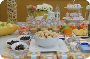 festa aniversario cafe manha