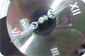 relogio cd