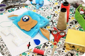 sewing toy art