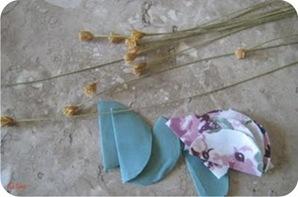 tutorial de flor de tecido