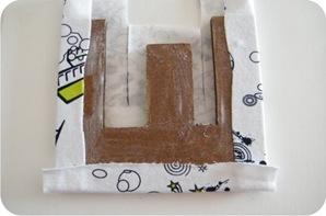 letra de mdf forrada com tecido
