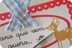 arvore de natal feita em casa