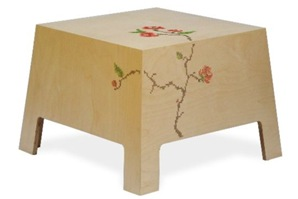 embroidery furniture