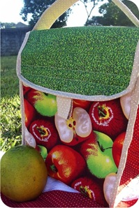 lunch bag apples