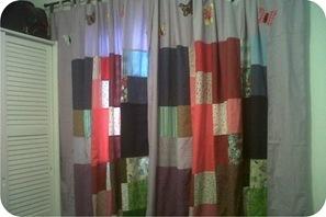 cortina de patchwork
