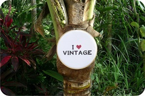 i love vintage embroidery