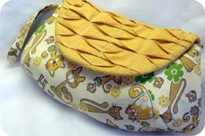 bolsa de mão de tecido