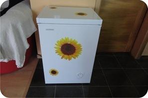 eletrodoméstico customizado com adesivo
