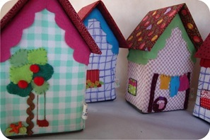 fabric houses