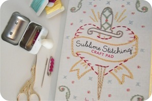 sublime stitching craft pad
