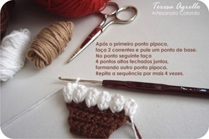 tutorial cupcake crochet