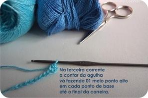 tutorial laco croche