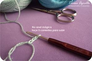 tutorial passarinho croche