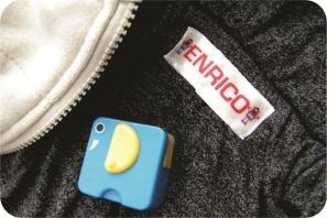 etiqueta para personalizar roupas