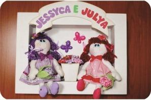 quadro bonecas