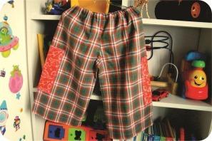 calca infantil feita em casa