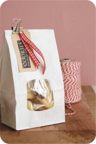 embalagem biscoitos de natal