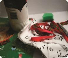 enfeite de natal reciclado para fazer em casa