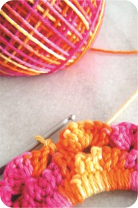 tutorial moldura de croche