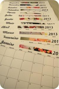 calendario mensal 2013