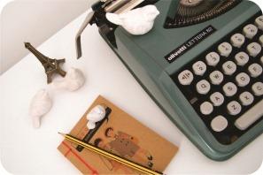 maquina de escrever vintage