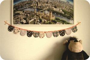 bandeirolas de tecido pascoa