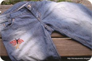 borboleta bordada