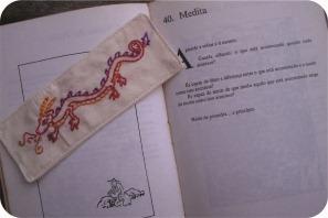 dragão bordado