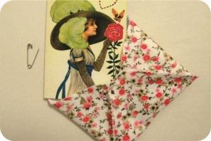 cartão bordado para o dia das mães