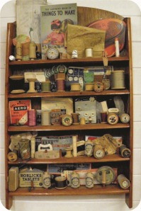 vintage craft supplies
