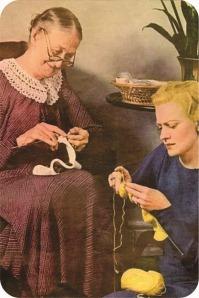 vintage kniting