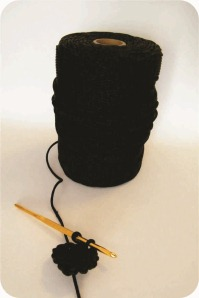 corda sintética para fazer crochê